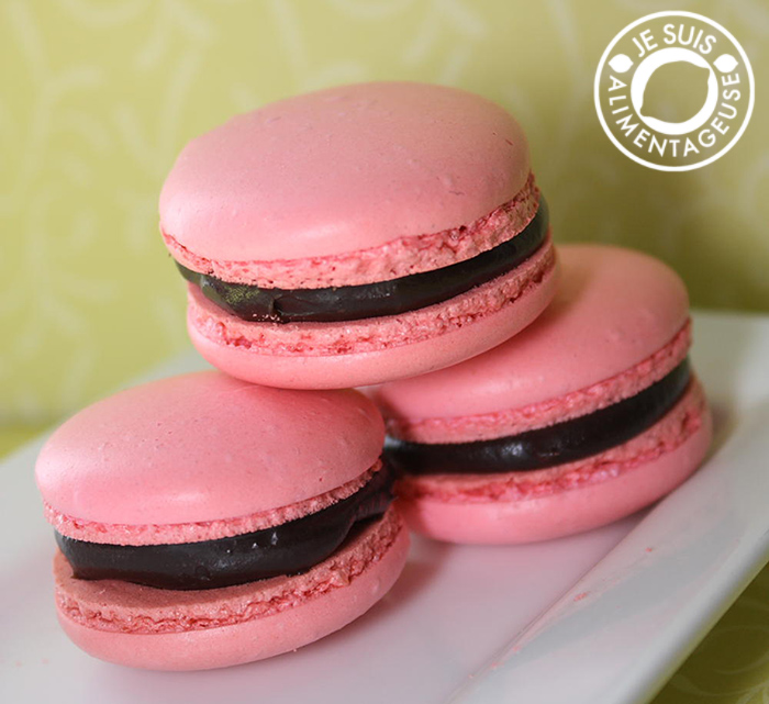 Previous: Hazelnut Nutella Macarons Next: Black Sesame Macarons »