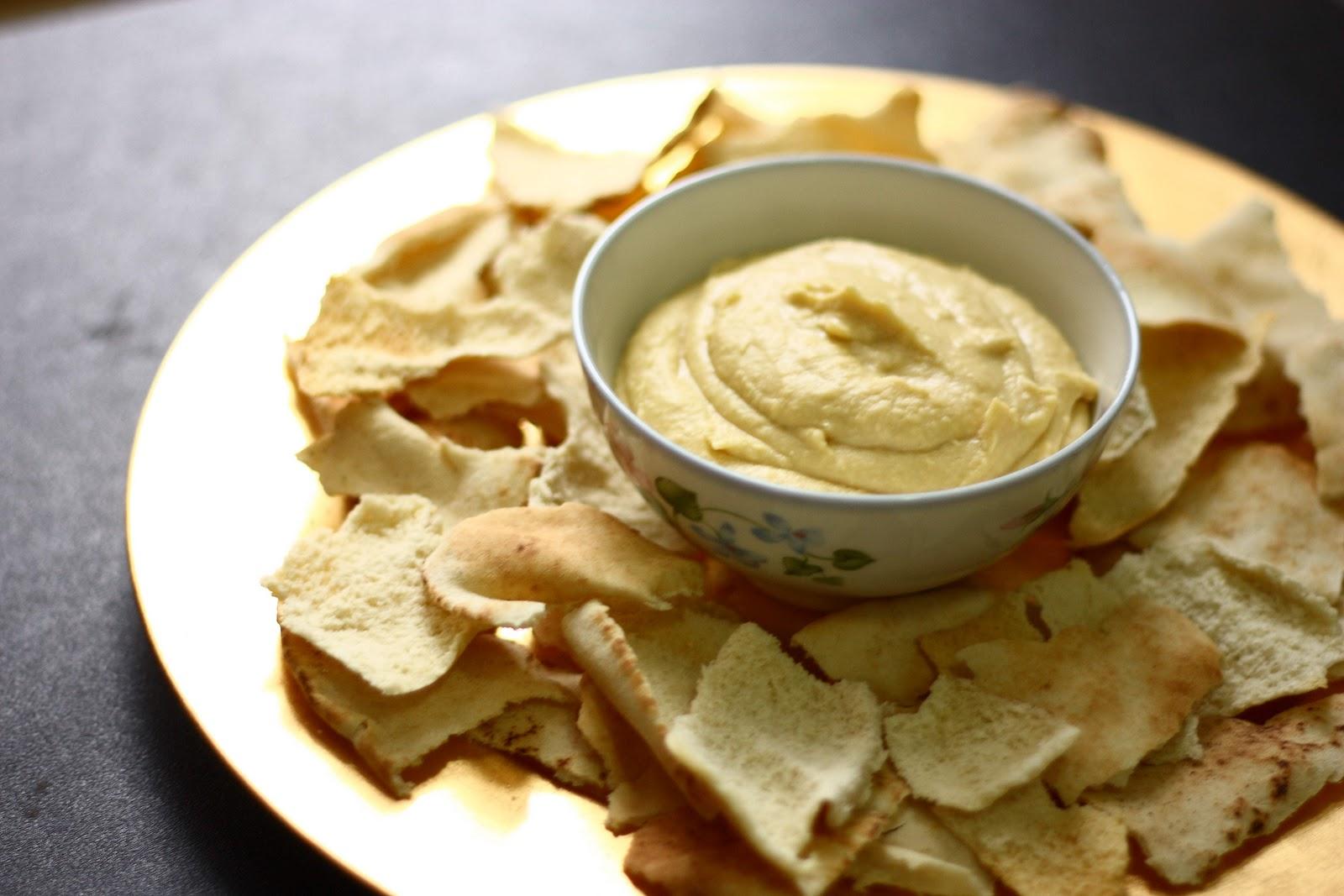 Creamy Homemade Hummus | alimentageuse.com #vegan #hummus
