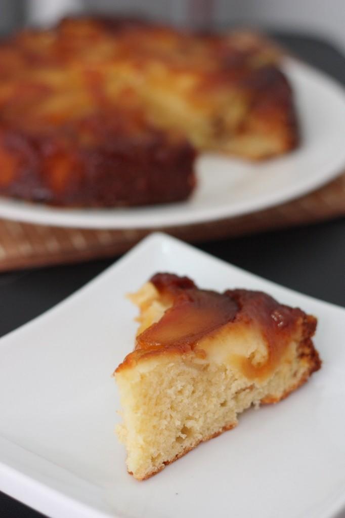 Caramel Apple Upside-Down Cake