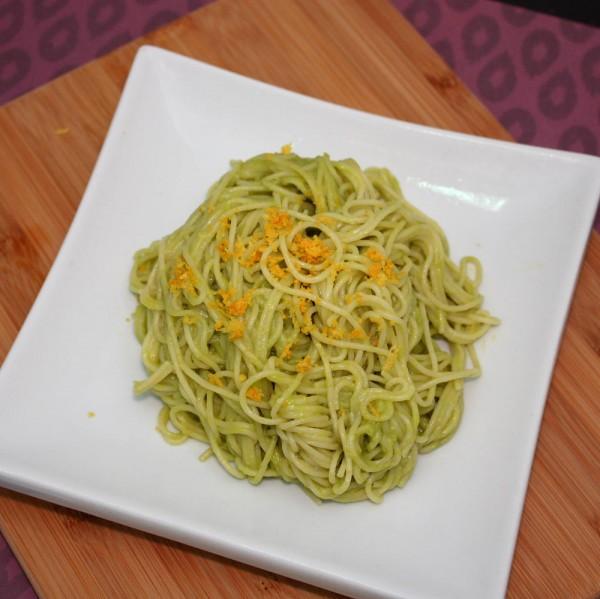 Creamy Avocado Cappellini