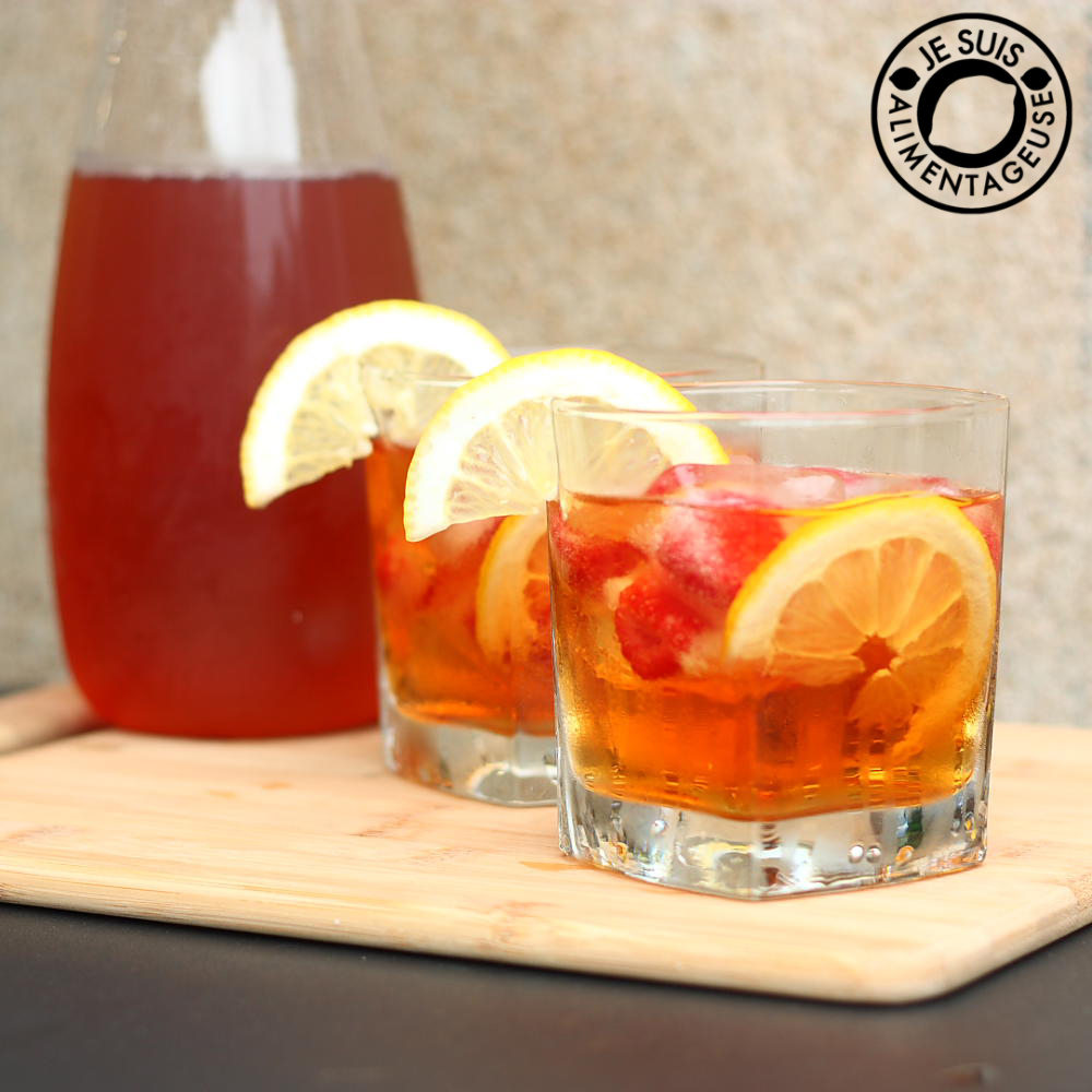 Mango Apricot Iced Tea