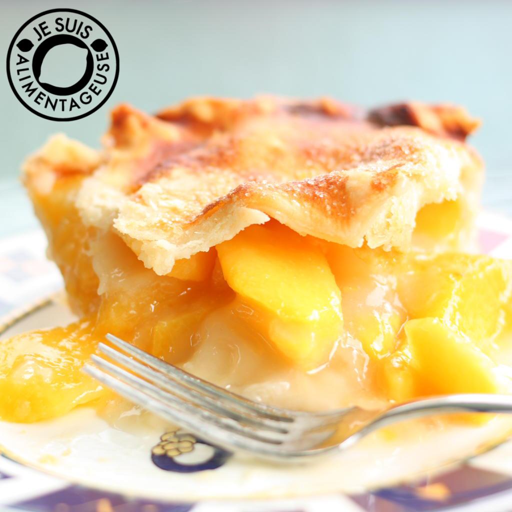 Peach Pie | Je suis alimentageuse