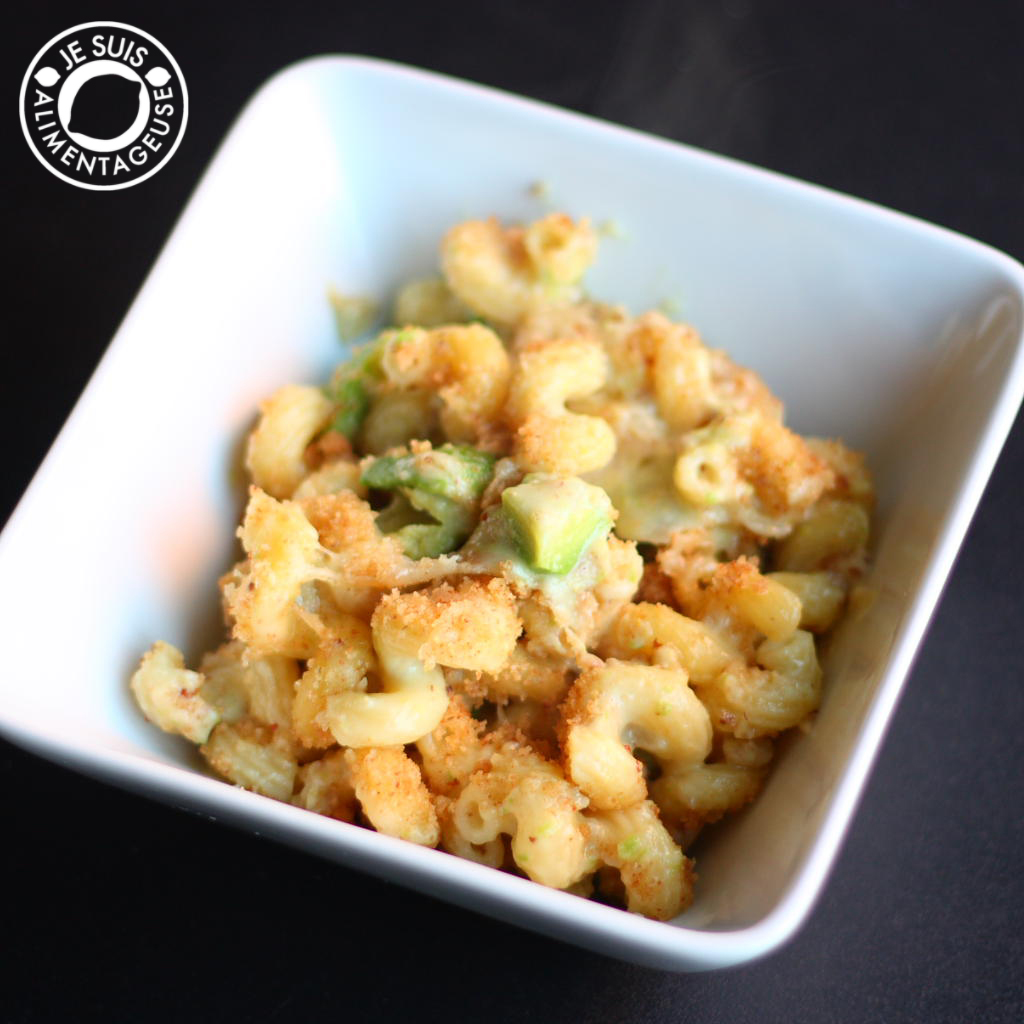 Avocado and Honey Mustard Mac and Cheese