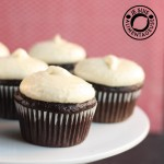 Banana Chocolate Cupcakes with Banana Cream Cheese Icing