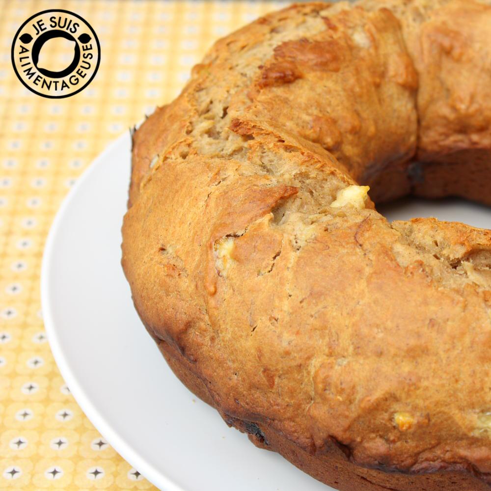 Banana Bread from alimentageuse.com