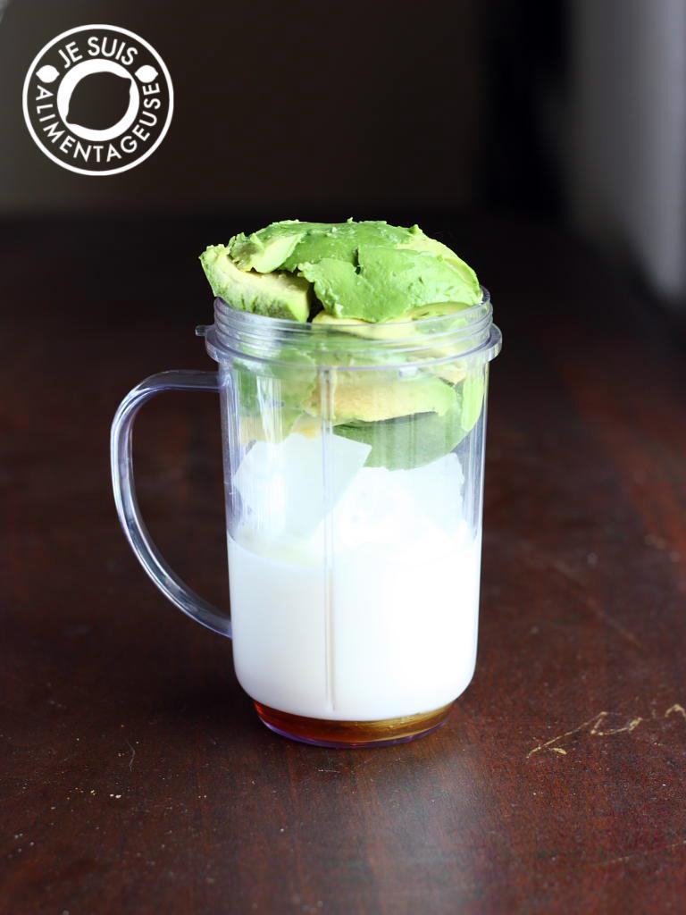 Vietnamese Avocado Shake