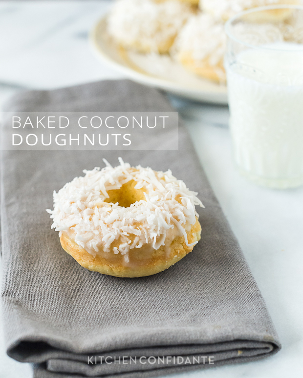Baked-Coconut-Doughnuts-Kitchen-Confidante