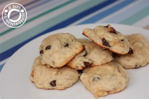 #Banana #Chocolate Chip #Cookies from alimentageuse.com Super soft and super delicious!