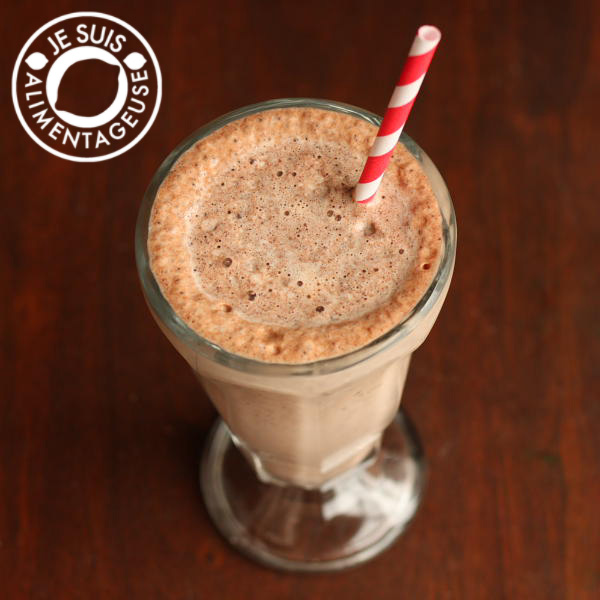 Try this #Skinny #Chocolate #Milkshake when you feel like a $5 milkshake without the calories. Except this is gonna cost less than $1 cause you probably already have the ingredients. alimentageuse.com