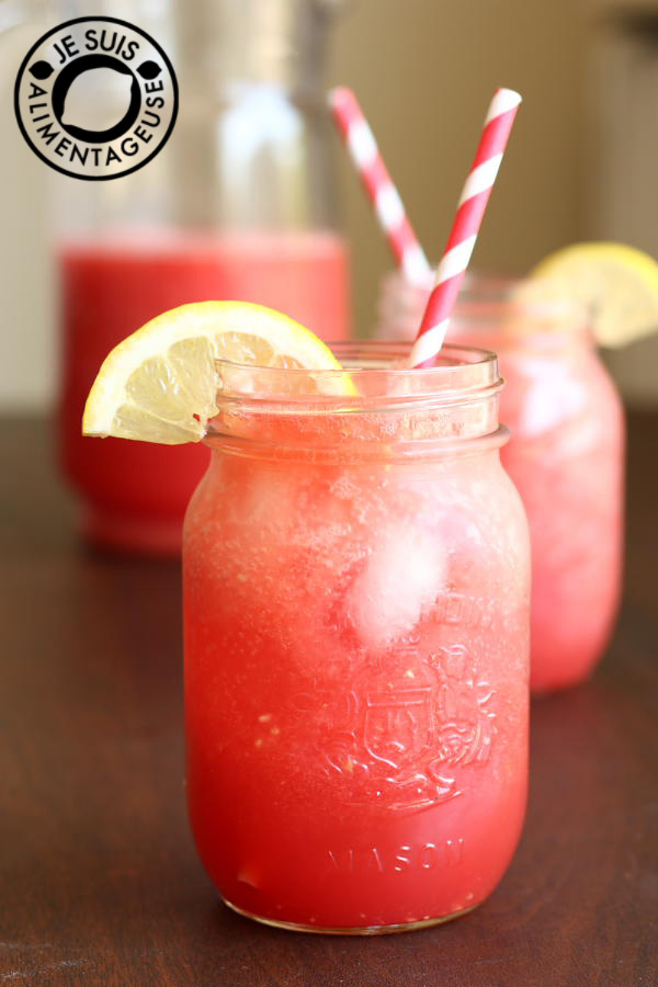 Watermelon Agua Fresca - A perfect drink for a hot, summer day ...