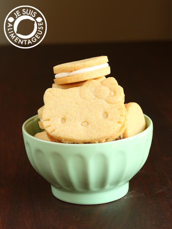 Copycat Golden Oreo Cookies