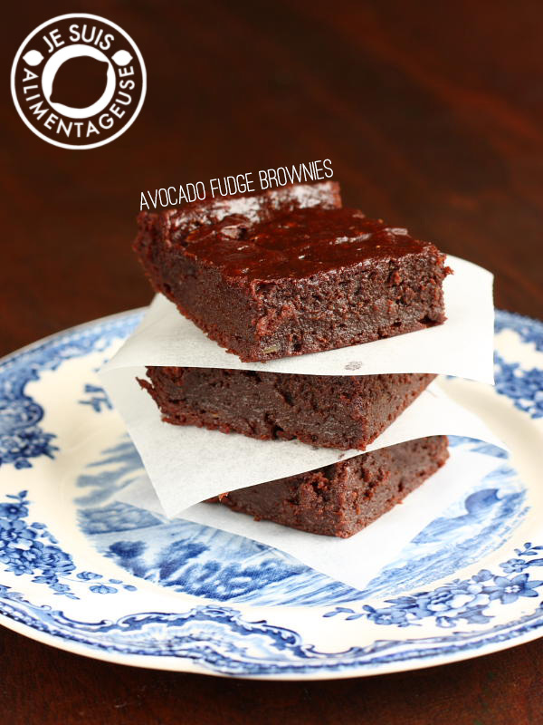 Avocado Fudge Brownies – A Birthday and another Giveaway!