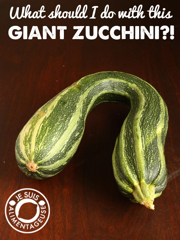 What should I do with GIANT ZUCCHINI?! | alimentageuse.com