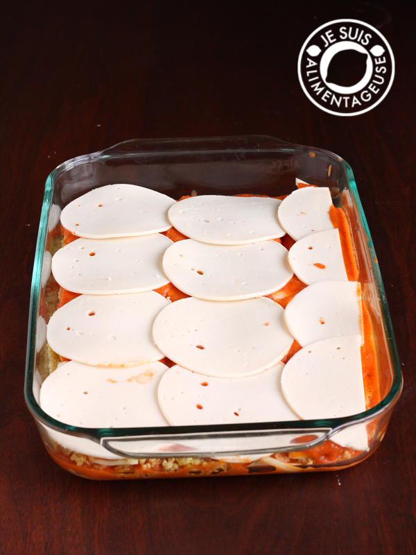 Vegan Zucchini Lasagna | alimentageuse.com #vegan #quinoa #zucchini #dinner
