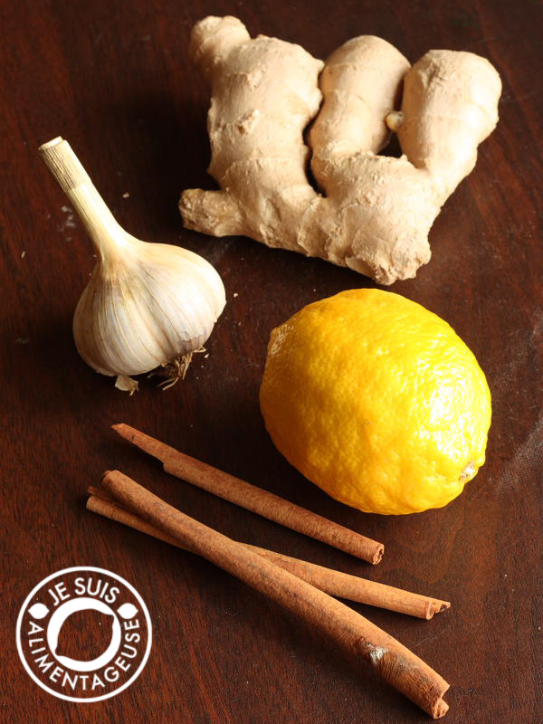Thaicia's Ginger Tea Cold Remedy