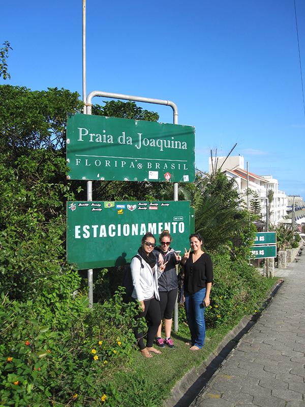Plaia de Joaquina in Florianópolis