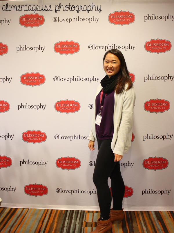 Me at Blissdom