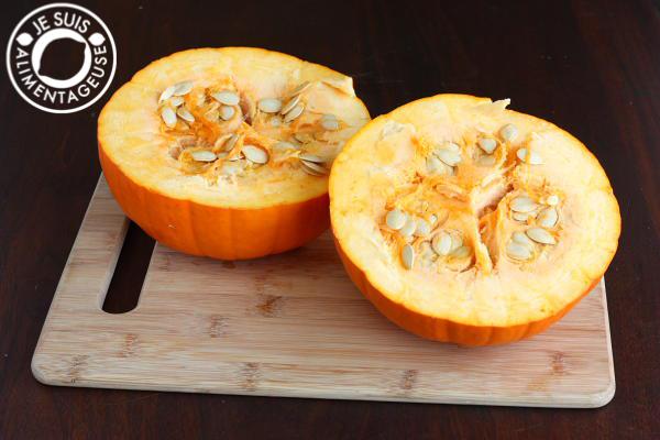 DIY Pumpkin Purée| alimentageuse #DIY #pumpkin #fall #vegan
