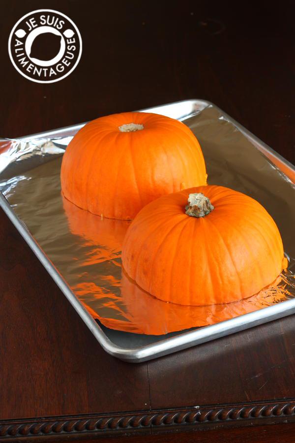 DIY Pumpkin Purée  alimentageuse #DIY #pumpkin #fall #vegan