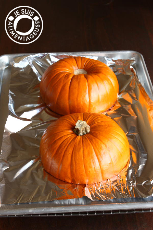 DIY Pumpkin Purée| alimentageuse #DIY #pumpkin #fall #vegan