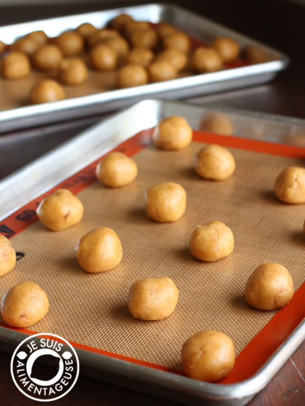 Pumpkin Spice Cookies | alimentageuse.com | #pumpkin #purée #fall #autumn #vegan