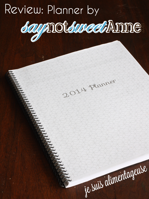 Review: Planner from @sweetannedesign