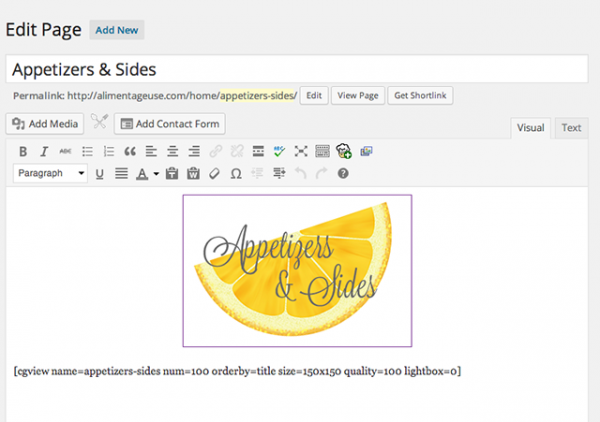 How to make a self-updating visual recipe index! |alimentageuse.com #DIY #blog #design #tutorial