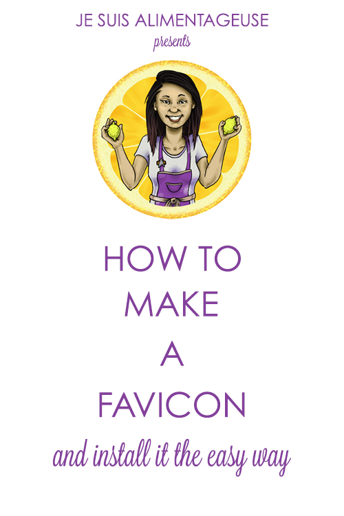 Blog Design Series: How to change your favicon THE EASY WAY! | alimentageuse.com #DIY #blog