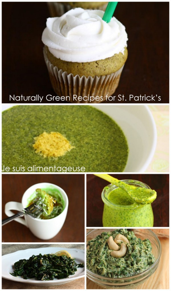 Naturally Green Recipes fro St. Patrick's Day | #vegan #glutenfree #green #stpatricks