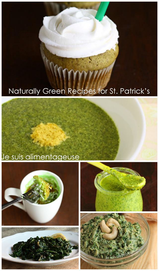 Naturally Green Foods for St. Patrick's Day | #vegan #glutenfree #green #stpatricks