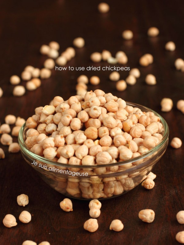How to use Dried Chickpeas