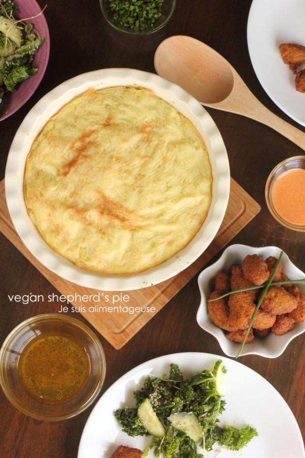 Vegan Shepherd's Pie - Classic Comfort Food that's great for potlucks or parties!