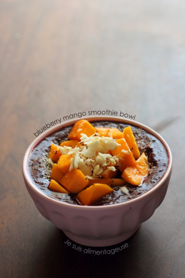 Blueberry Mango Smoothie Bowl & The End of a Chapter