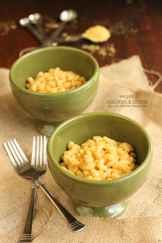 Vegan Macaroni and Cheese | Je suis alimentageuse