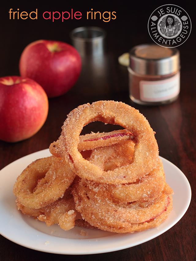 Fried Apple Rings