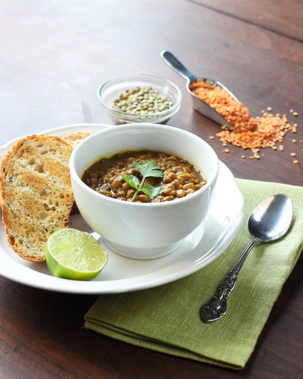 Spiced Lentil Stew