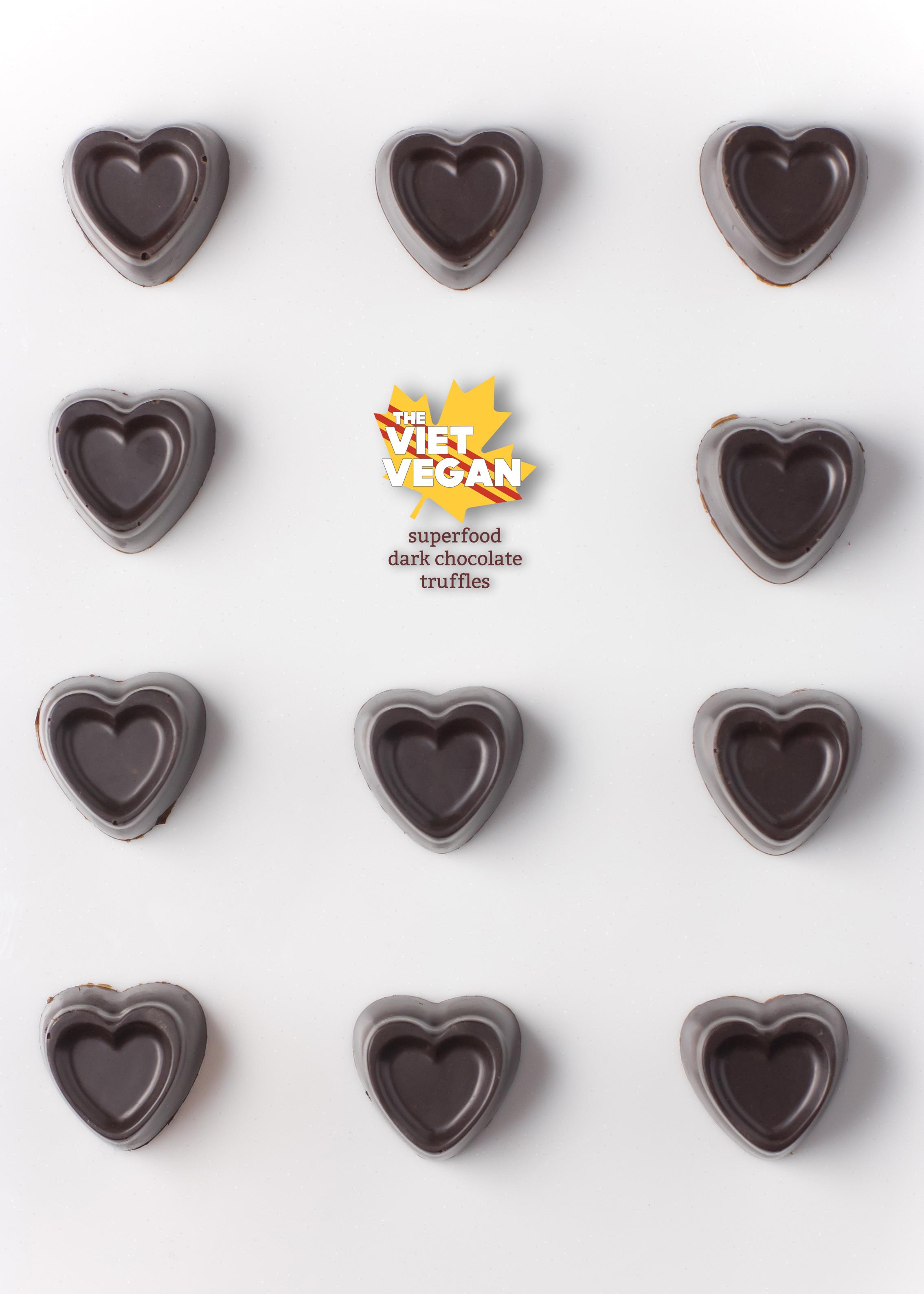 Superfood Dark Chocolate Truffles