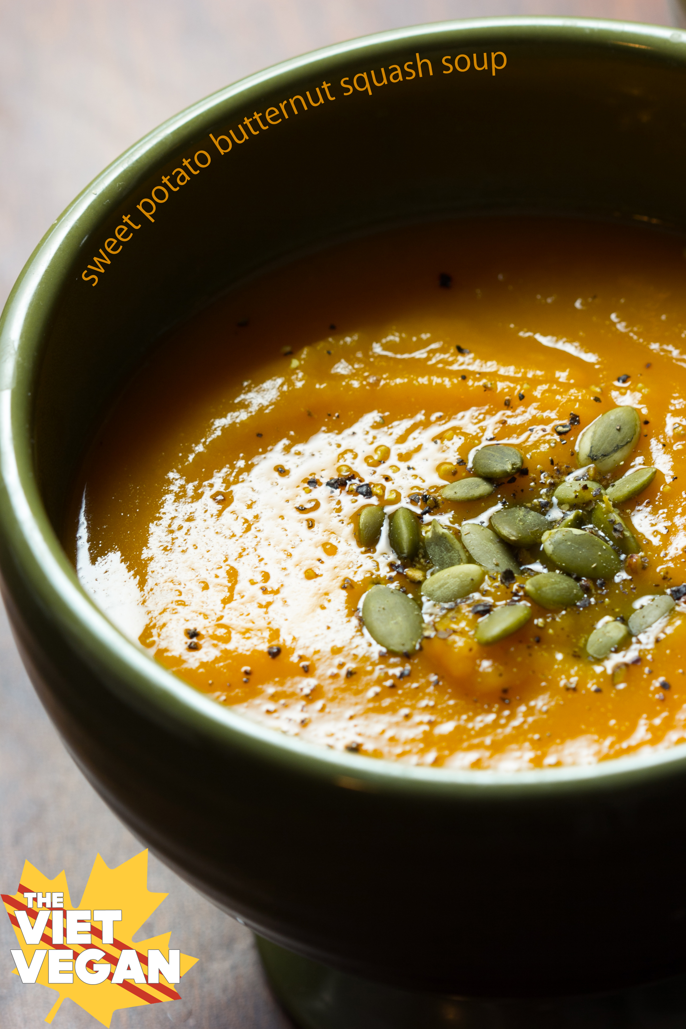 Roast squash And sweet potato Soup With Buttermilk Blue ...