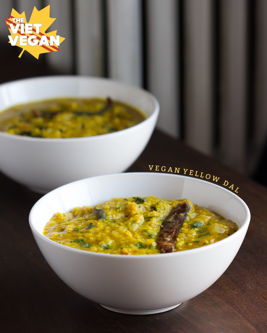 Yellow Dal | The Viet Vegan | Warming spices, big flavour, and cheap to make