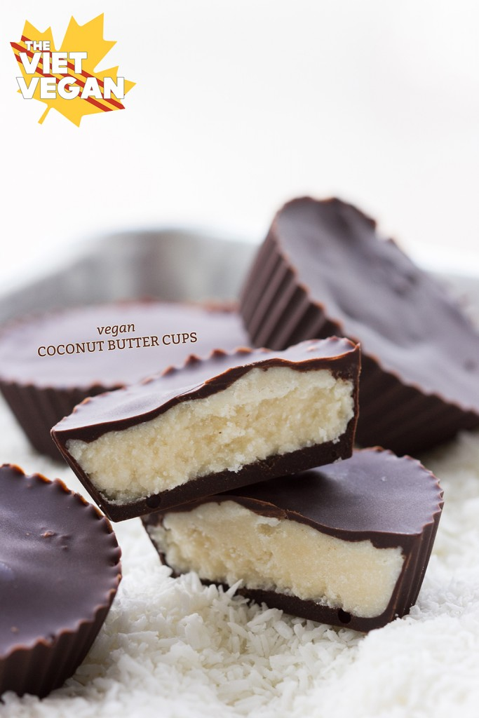Vegan Coconut Butter Cups