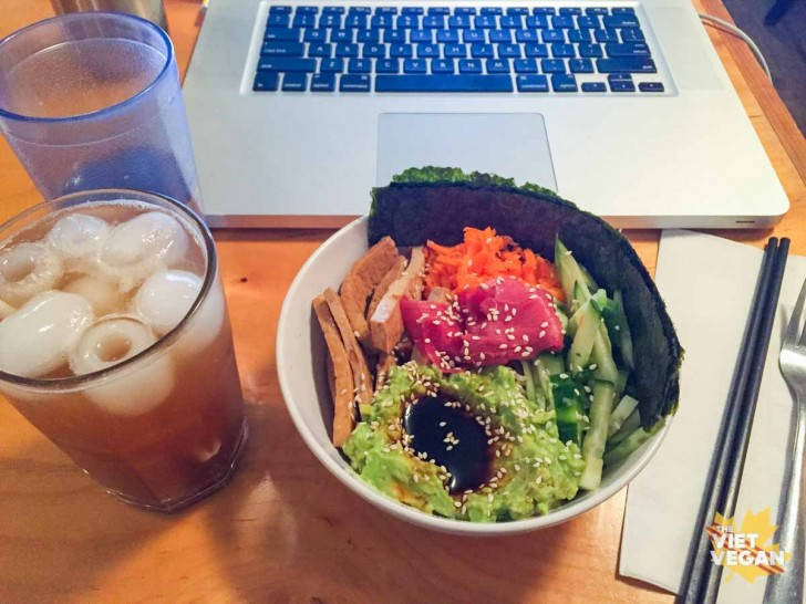 Cafe Resonance Avocado Roll Bowl