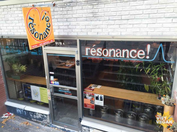 Cafe Resonance Storefront
