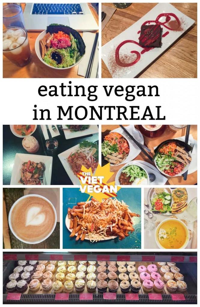 Eating Vegan in Montreal