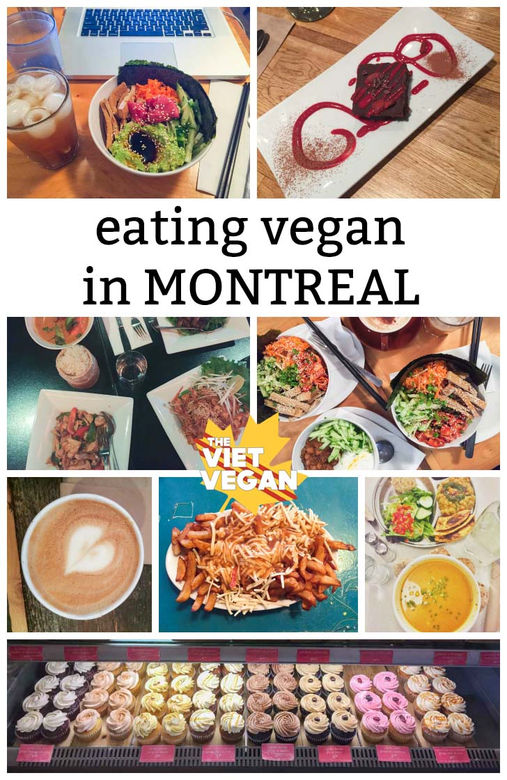 Eating Vegan in Montreal