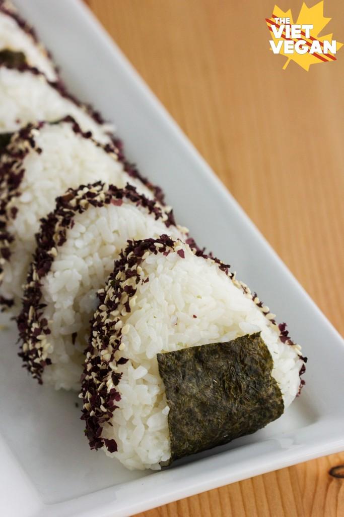 Vegan Miso Dulse Onigiri