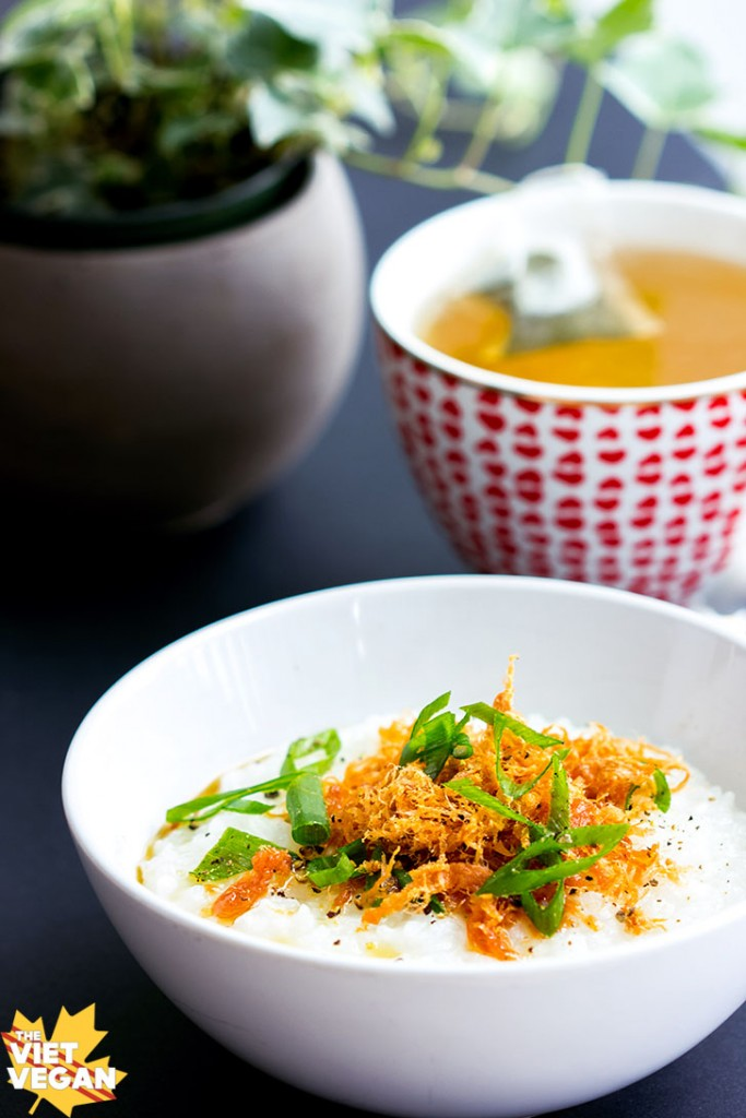 Vegan Vietnamese Chao (Congee)