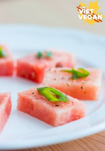 Watermelon Chilli Salt Amuse Bouche