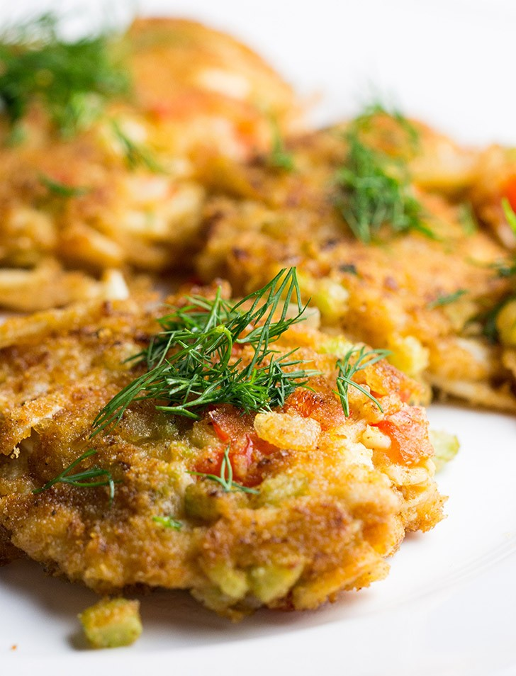 The Lusty Vegan Hearts of Palm Crab Cakes V