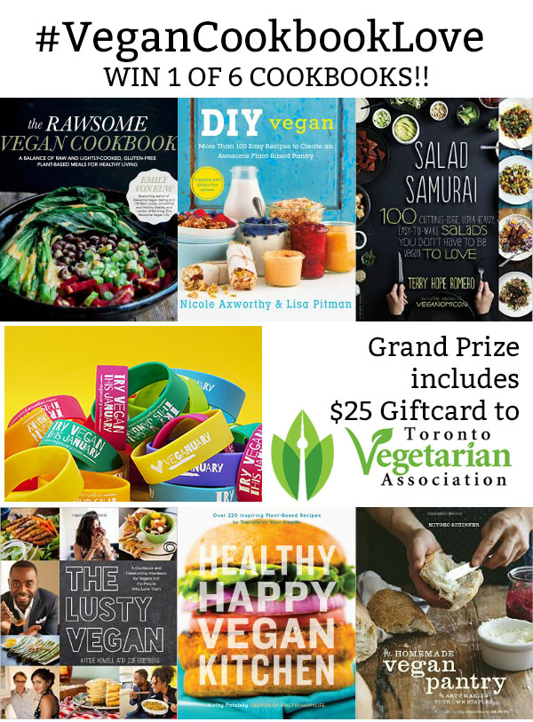 Vegan Cookbook Love Giveaway