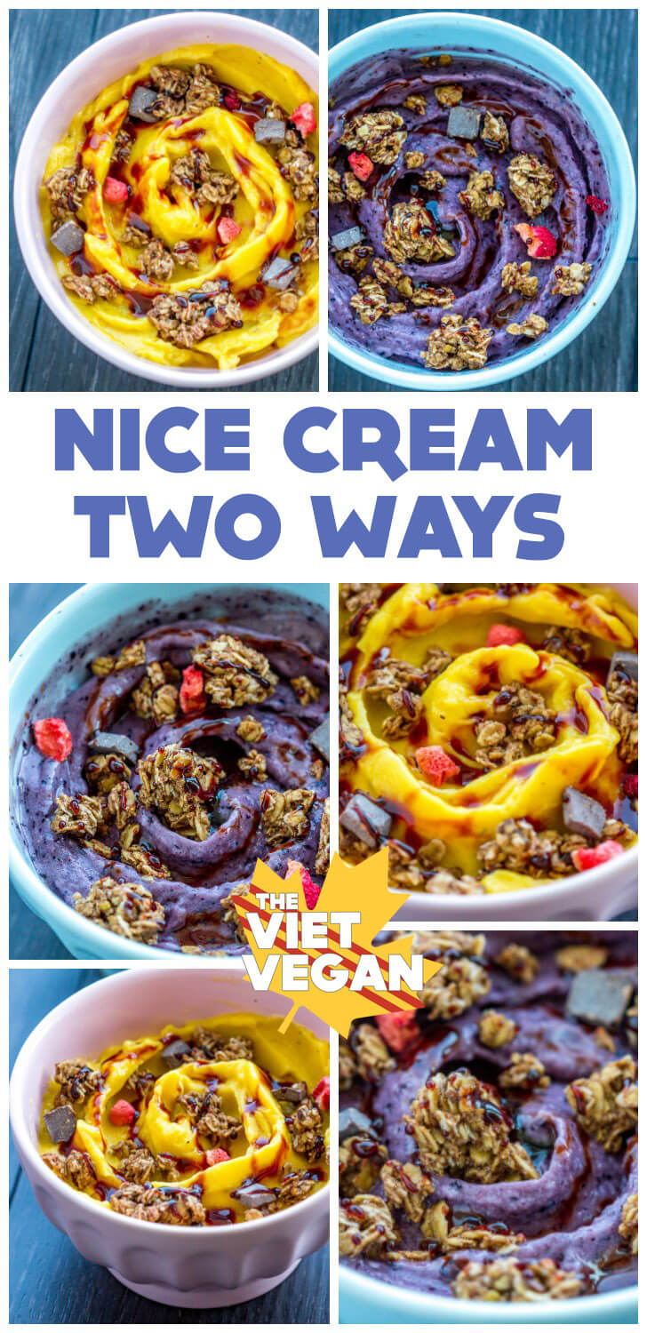 Nice Cream Two Ways